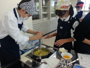 調理実習 047